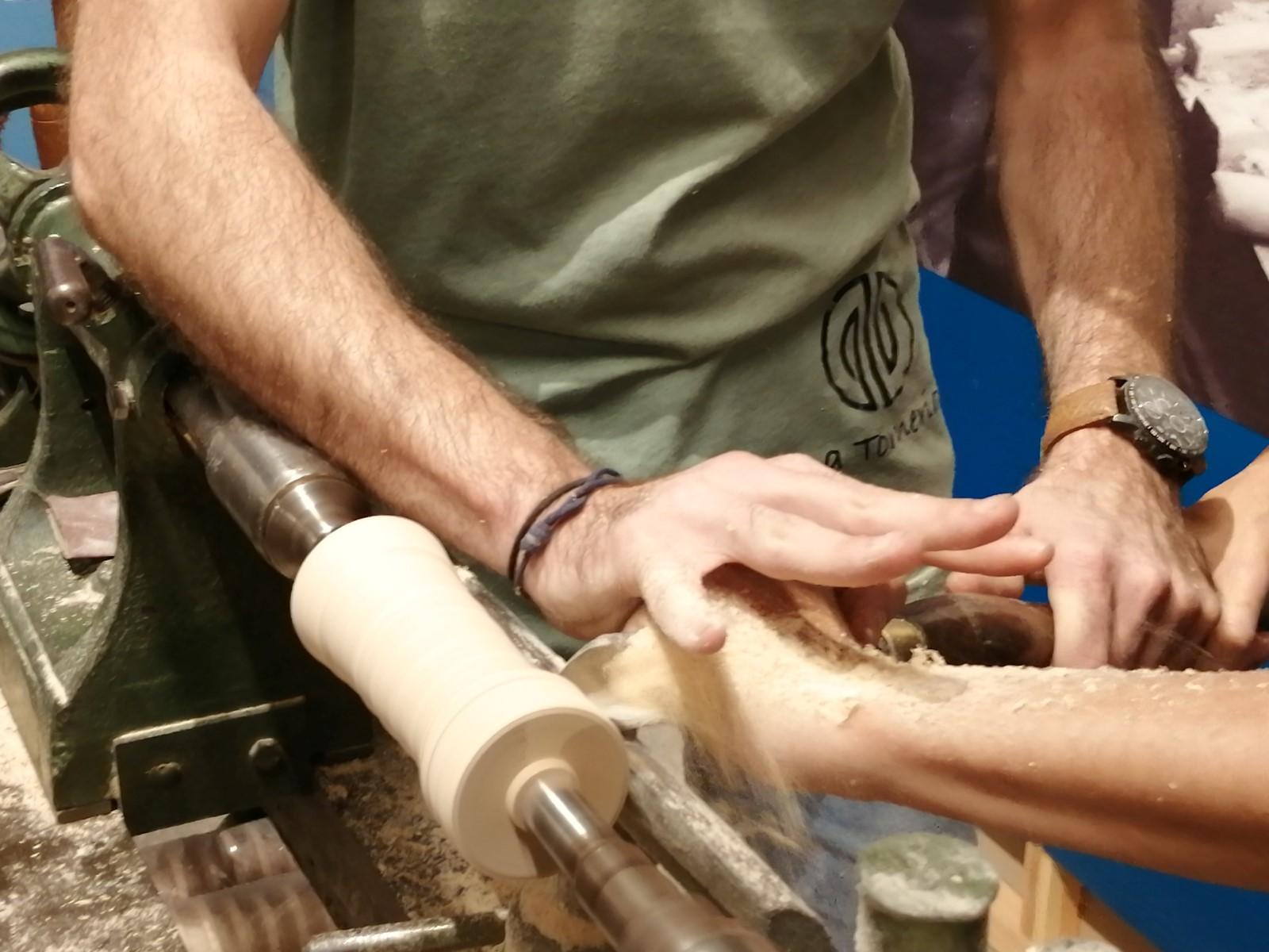 curso de torneado de madera